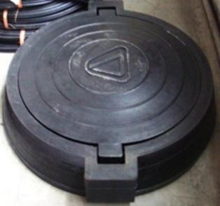 Основание люка D=800 мм (с ушками 870 мм)